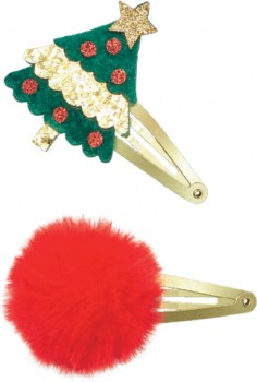 Assorted-2-Pack-Christmas-Hair-Clips on sale