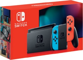 Nintendo-Switch-Console-Neon on sale