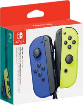 Nintendo-Switch-Joy-Con-Controllers-Blue-and-Yellow on sale