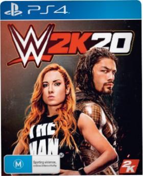 PS4-WWE-2K20 on sale