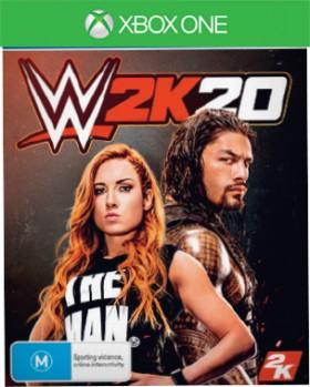 Xbox-One-WWE-2K20 on sale