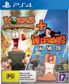 PS4-Worms-Battlegrounds-Worms-W.M.D on sale