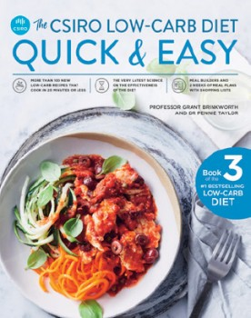 NEW-The-CSIRO-Low-Carb-Diet-Quick-Easy on sale