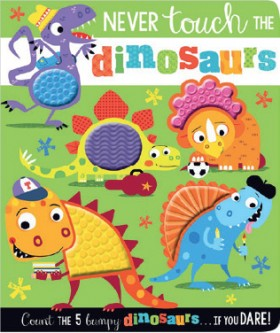 NEW-Never-Touch-the-Dinosaurs on sale