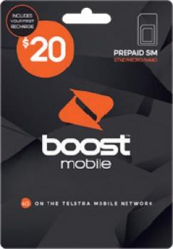 Boost-20-SIM-Card on sale