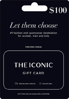 100-The-Iconic-Gift-Card on sale