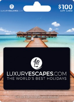 100-Luxury-Escapes-Gift-Card on sale