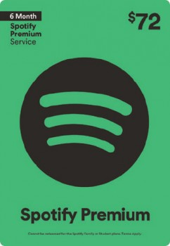 15-off-72-Spotify-6-Month-Premium-Service on sale