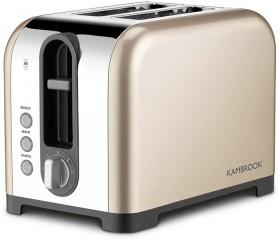 Kambrook-2-Slice-Toaster-Champagne on sale