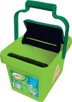 Sabco-Ezy-Squeeze-Mop-Bucket-9-Litre on sale