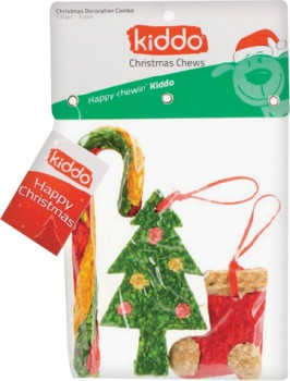 Kiddo-3-Pack-Christmas-Decoration-Combo-Dog-Treats on sale