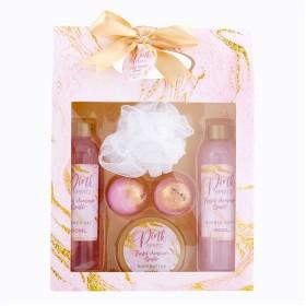 Pink-Sparkle-Bath-Gift-Set on sale