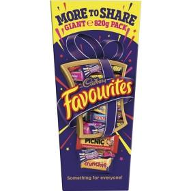 Cadbury-Favourites-820g on sale
