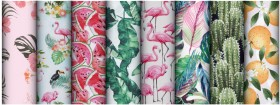 Print-Poplin-Drills-Ducks-Canvas on sale