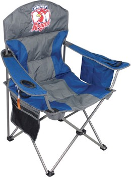NRL-Roosters-Camp-Chair on sale
