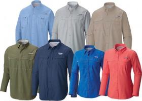 Columbia-Fishing-Shirts on sale