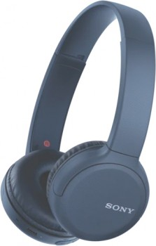 Sony-Wireless-On-Ear-Headphones-Blue on sale
