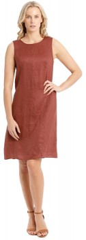 Trent-Nathan-Structured-Linen-Dress on sale