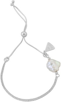 Von-Treskow-Sterling-Silver-Bracelet-with-Pearl on sale