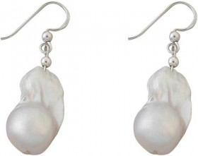 Von-Treskow-Sterling-Silver-Earrings-with-Pearls on sale