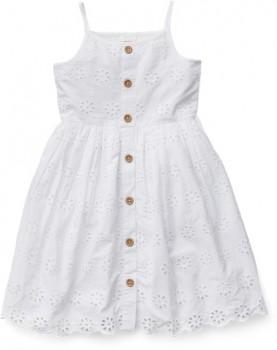 Milkshake-Broderie-Button-Front-Dress on sale