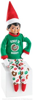 The-Elf-on-the-Shelf-Couture-Donut-Be-Naughty-PJs on sale