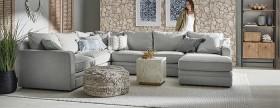 Andersen-6-Seat-Fabric-Corner-Modular-Sofa-with-Chaise on sale