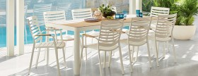 Adelphi-9-Piece-Dining-Package-White on sale