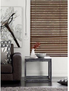 50-off-Brown-Oak-Ready-To-Hang-Timber-Venetian-Blinds on sale