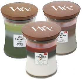 Woodwick-Christmas-Candles-Medium on sale