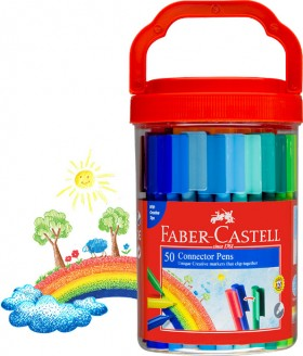 Faber-Castell-Connector-50-Pen-Bucket on sale