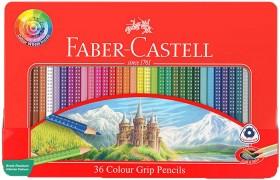 Faber-Castell-Colour-Grip-Tin-36-Colours-Wheel on sale