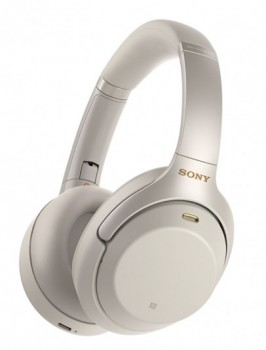 Sony-On-Ear-Headphones-Silver on sale
