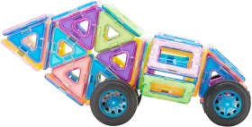 100-Pieces-Magnetic-Tiles-Vehicle on sale
