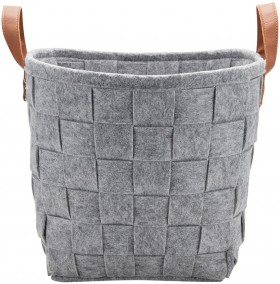 Christmas-Woven-Felt-Basket-with-Handles on sale
