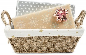Christmas-Basket-with-Star-Liner on sale