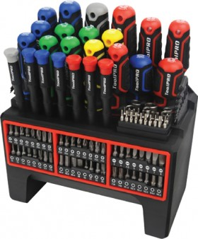 ToolPRO-114-Piece-Screwdriver-Set on sale