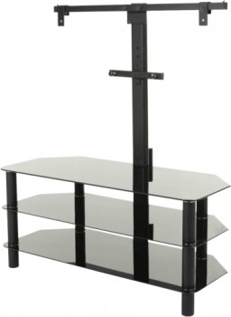 Linden-TV-Stand-with-Bracket-1050mm-Glass-3-Shelf on sale
