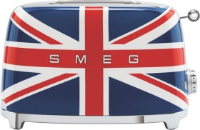 Smeg-50s-Style-Toaster-2-Slice-Union-Jack on sale