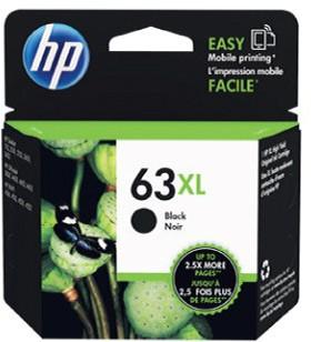 HP-63XL-High-Yield-Black-Original-Ink-Cartridge on sale
