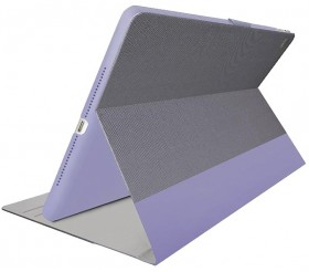 Cygnett-Teckview-9.7-Inch-iPad-Case-with-Stylus-Holder-Lilac-Grey on sale