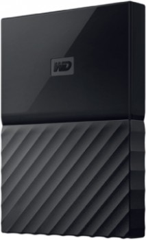 Western-Digital-My-Passport-Portable-Hard-Drive-4TB-Black on sale