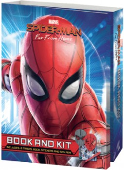 Spider-Man-Book-and-Kit on sale