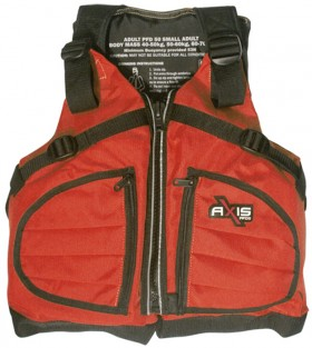 Red-Axis-Kayaka-50N-PFDs on sale