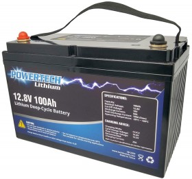 12.8V-100Ah-Lithium-Deep-Cycle-Battery on sale
