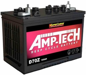 Super-Charge-12V-Deep-Cycle-Lead-Acid-Battery-D70Z-105Ah on sale