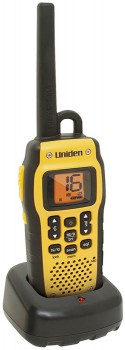 Uniden-2.5W-Waterproof-VHF-Marine-Radio-MHS050 on sale