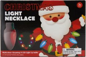 Christmas-Light-Necklace on sale
