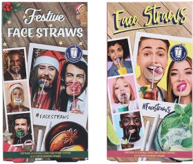 Face-Straws on sale