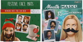 Assorted-Face-Masks-and-Mats on sale